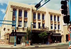 KiMo Theatre, downtown Albuquerque, NM